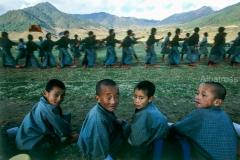 ילדים בבהוטן