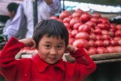 ילד סיני אדום