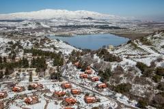 מרום גולן בשלג