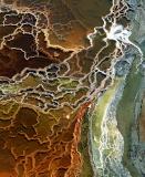 אבסטרקט של ים המלח